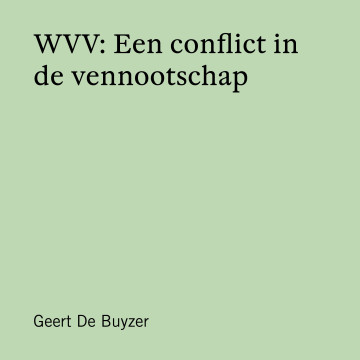 WVV: Een conflict in de vennootschap